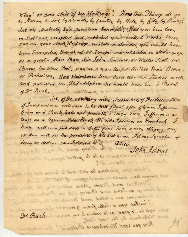 declaration of independence and letter from The signing of the united states declaration of independence occurred primarily on august 2, 1776 at the pennsylvania state house, independence hall in philadelphia.
