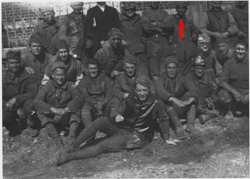 Joseph M. Bruccoli in his World War I unit