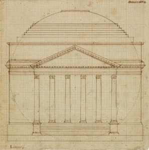 South Elevation of the Rotunda, 1819