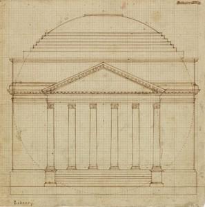 South Elevation of the Rotunda, 1819