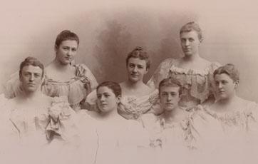Seven Gary girls