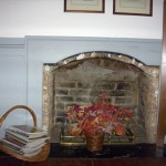 soldiers joy fireplace