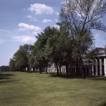 cabell hall from rotunda