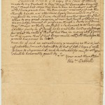Elizabeth Cabell to Edward Barridil. 23 August 1739 (MSS 5084 / Box1)