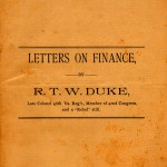 letters on finance cover