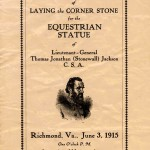 stonewall jackson monument bulletin